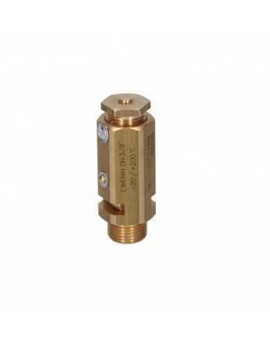 "Safety valve 3/8""m - 1.9 bar CE / PED"