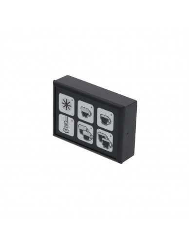Touchpanel 6 buttons