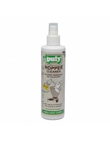 Puly grind hopper cleaner