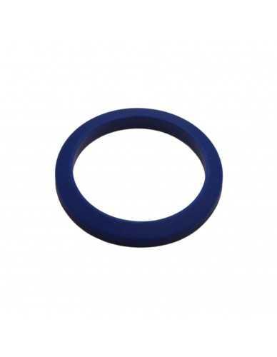 Joint porte-filtre conique 71x56x9mm silicone bleu
