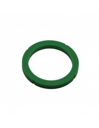 Junta portafiltro Rancilio 73x57.5x8mm silicona verde