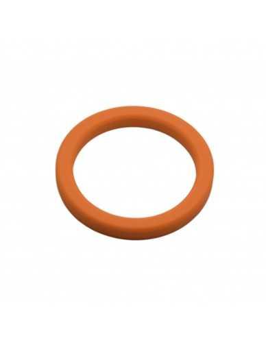 Junta portafiltro 72,7x57x8mm silicona naranja