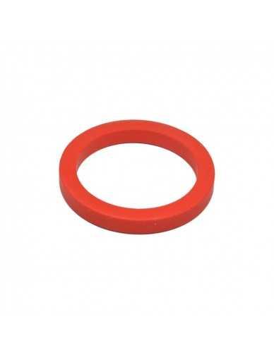 Junta portafiltro 73x57x9mm silicona roja