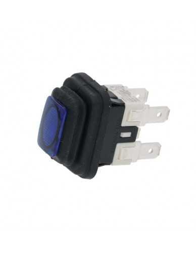 La San Marco blue bipolar switch 16A 250V