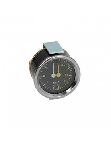 Grimac boiler pump pressure gauge 0-2.5 / 0-16 bar
