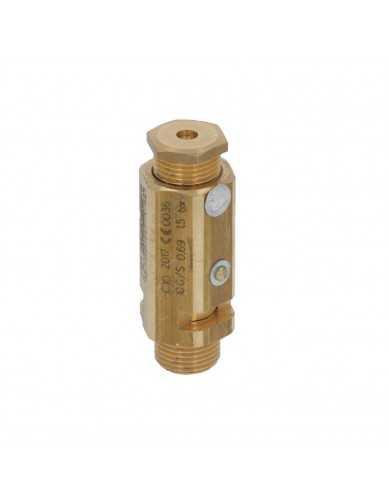 """Safety valve 3/8"""" 1.5 bar CE/PED"""