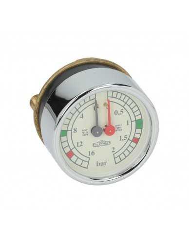 Elektra boiler en pomp manometer origineel