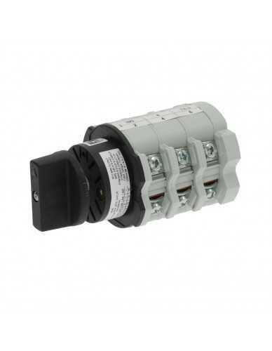 Interruptor Bremas 0-3 posiciones 32A 690V