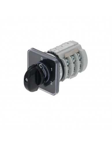 Bremas selector switch 0-2 20A 690V