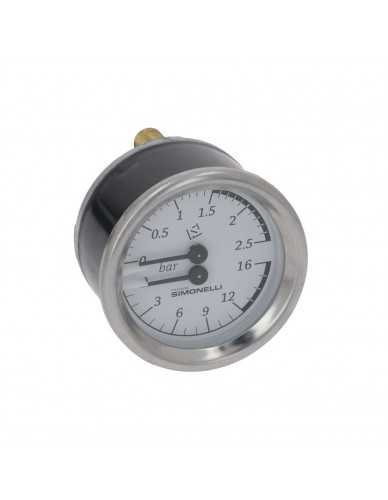 Nuova Simonelli pressure gauge 0-2.5 / 0-16bar