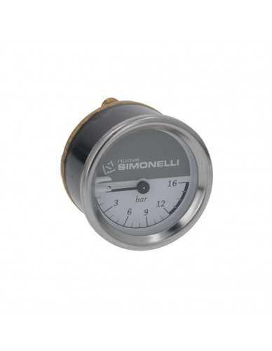 Nuova Simonelli drukmeter 0 - 16 bar