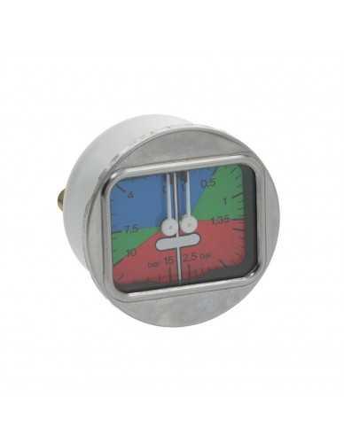 La Spaziale manometer 0 - 2.5 / 0 - 15bar