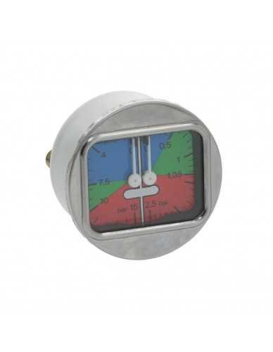 La Spaziale pressure gauge 0 - 2.5 / 0 - 15bar