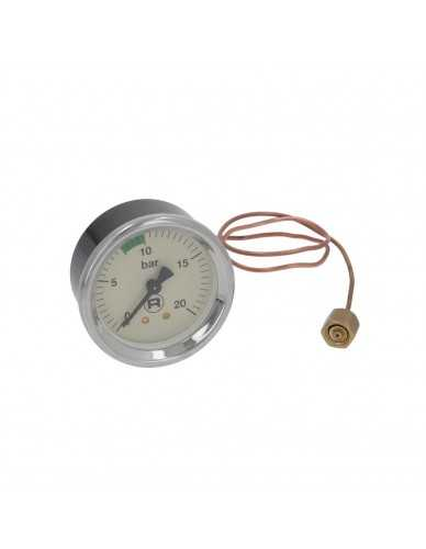 Rocket pumpe manometer 0 - 20 bar