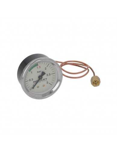 Rocket boiler manometer 0 - 3 bar