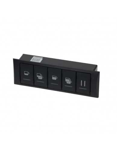 Rancilio Classe 7 touchpanel 5 buttons