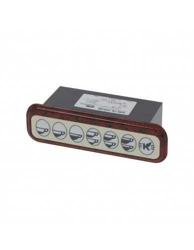 Elektra touchpanel/controlbox 7 keys 230V