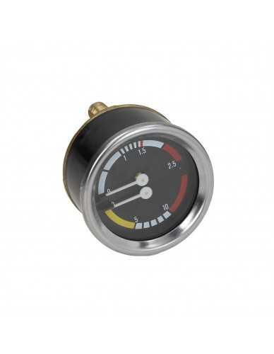 Nuova Simonelli boiler pump manometer 0-2.5 / 0-16 bar