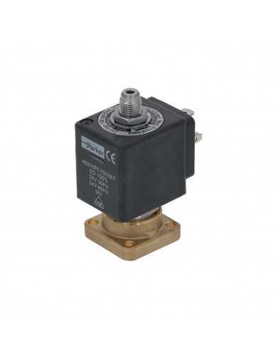 路西法電磁閥3路基座安裝24V AC