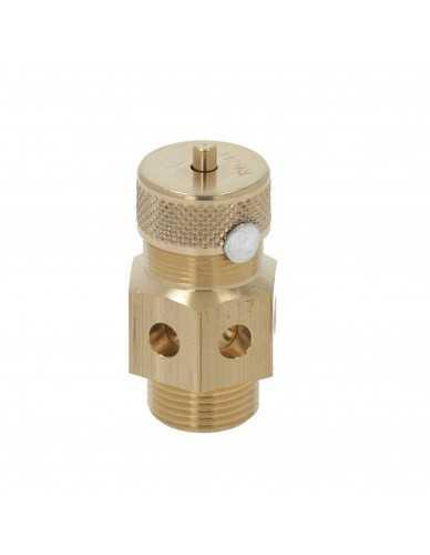 Válvula de seguridad M19 1,8 Bar certificada CE