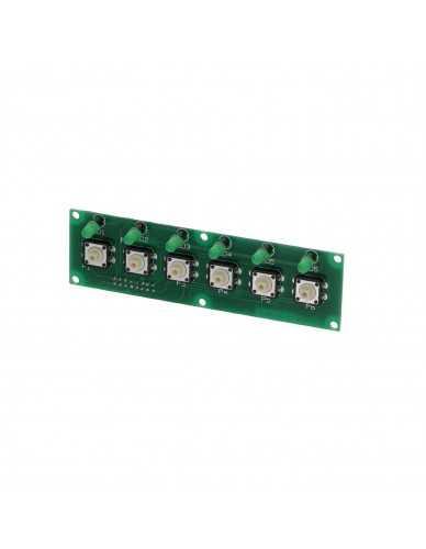 San Remo SED MI green led button strip