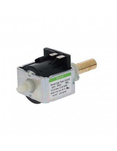 Ulka vibratiepomp EAXS5 120V met messing uitgang