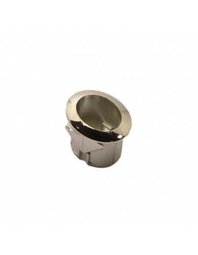 Drukknop support zilver