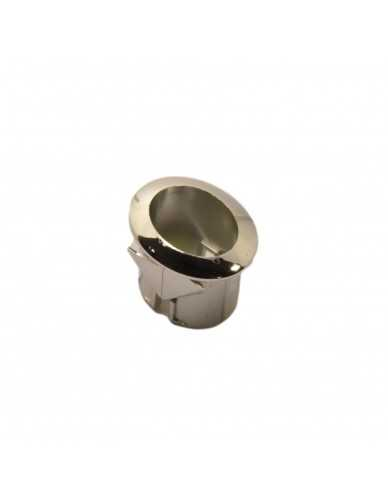 Push button support silver