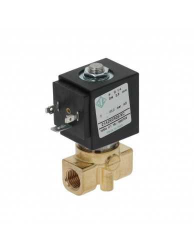 """Ode solenoid valve 2 ways 1/4"""" 1/4"""" 230V 50/60Hz"""