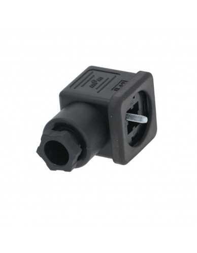 Solenoid valve connector
