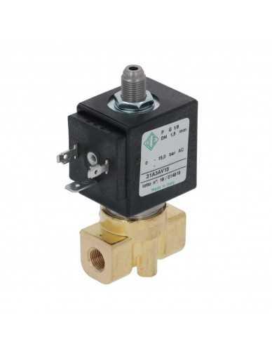 """Ode solenoid valve 3 ways 1/8"""" 1/8"""" 220/230V 50/60Hz DN1.5MM"""