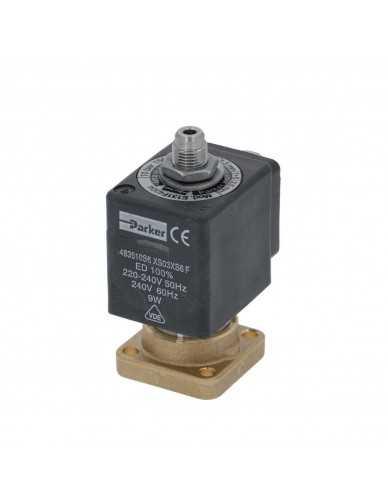 Lucifer solenoid 3 way base mounting 220/240V 50/60Hz