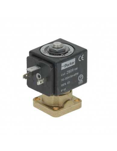 Parker magneetventiel 2-weg basis montage 9W 110/120V