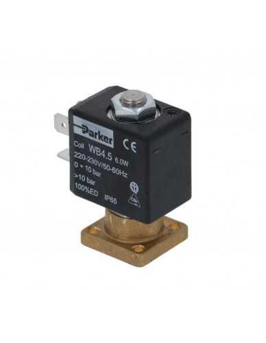 Parker 2 weg magneetklep met kleine basis 4.5W 230V 50/60Hz