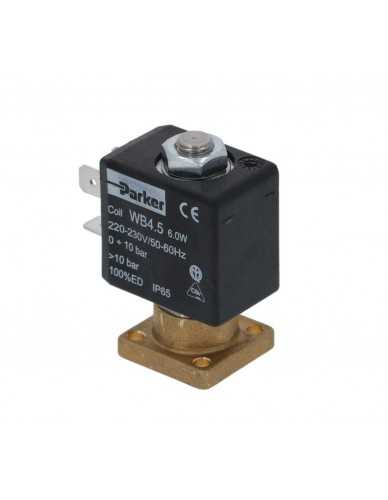 Parker 2 Wege-Magnetventil kleiner Sockel 4,5W 230V 50/60Hz