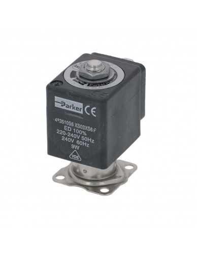 Parker 2 way stainless steel solenoid valve 220/240V 50/60Hz Dn1.5mm