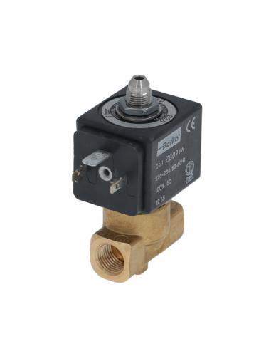 "Parker 3 way solenoid valve 1/4"" 1/4"" 9W 220/230V 50/60Hz DN2,5mm"