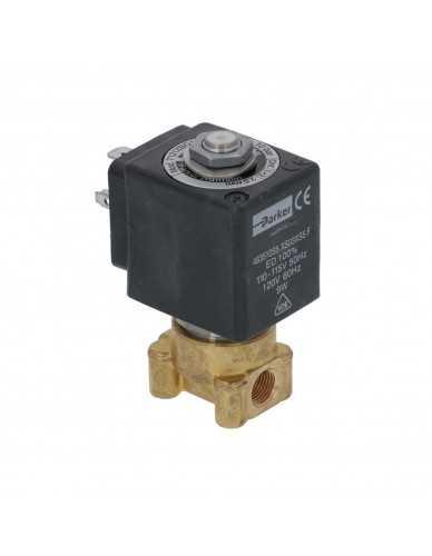 "Lucifer solenoid valve 2 way 1/8"" 1/8"" 110/120V 50/60Hz"