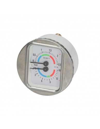 Kessel und pumpe Manometer 0-2,5 bar 0-16bar 1/8 D.63