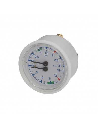 Boiler pomp manometer D 63 0-3 0-15 bar