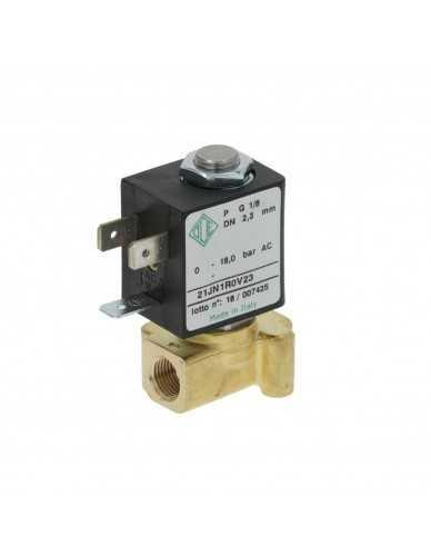 "ODE 2 way solenoid valve 1/8"" 230V 5W"