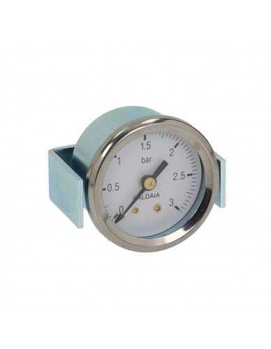 Boiler pressure gauge 39mm 0 - 3 bar