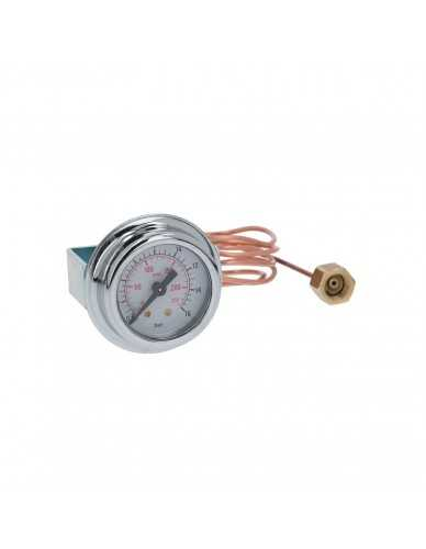 Pomp manometer ø41mm 0-16bar met kappilair