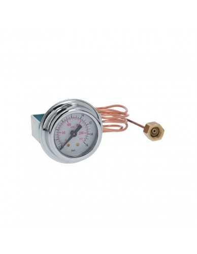Pump pressure gauge ø41mm 0-16bar with capillar