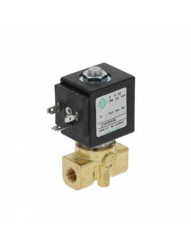 "Ode 2 way solenoid valve 1/8"" 230V 8W"