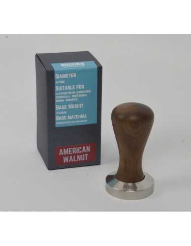 Pavoni pre-millenium Tamper 49,5mm amerikanischer Nussbaum