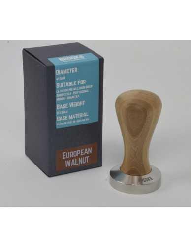 Pavoni pre-millenium Tamper 49,5mm Europäischer Nussbaum