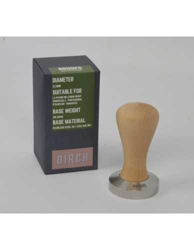 Pavoni millenium tamper 51.5mm Birch