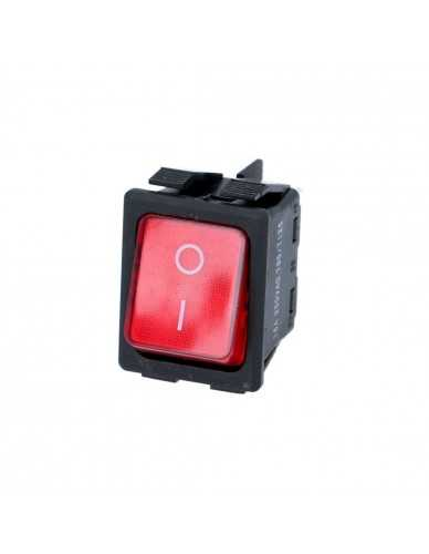 bipolar switch red 16A 250V