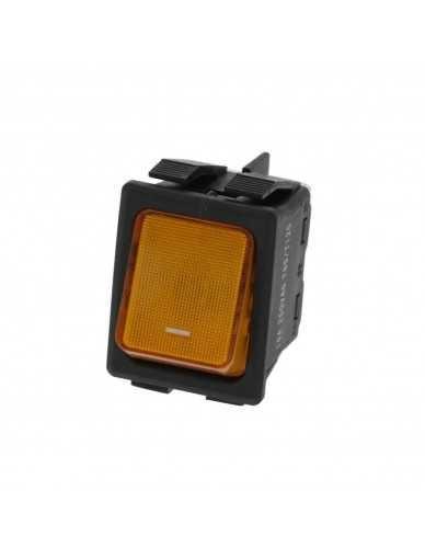 Bipolair-Schalter orange 16A 250V.